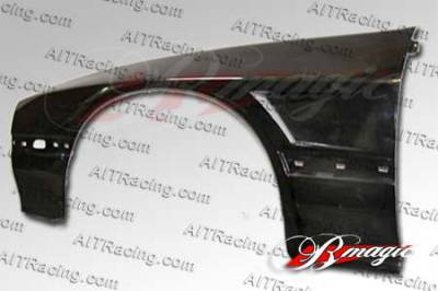 RX7 - Fenders - AIT Racing - Mazda RX-7 AIT Racing D1 Style Wide Front Fenders - M787BMD1SFF