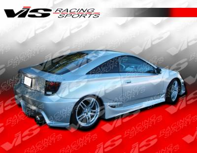 Celica - Side Skirts - VIS Racing - Toyota Celica VIS Racing Ballistix Side Skirts - 00TYCEL2DBX-004