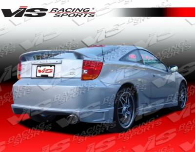 Celica - Side Skirts - VIS Racing - Toyota Celica VIS Racing Battle Z Side Skirts - 00TYCEL2DBZ-004
