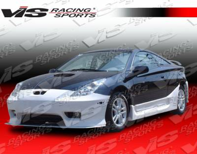 Celica - Side Skirts - VIS Racing - Toyota Celica VIS Racing Cyber Side Skirts - 00TYCEL2DCY-004
