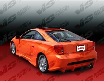 Celica - Side Skirts - VIS Racing - Toyota Celica VIS Racing Invader Side Skirts - 00TYCEL2DINV-004