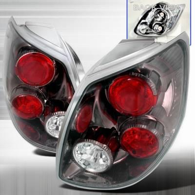 Headlights & Tail Lights - Tail Lights - Custom Disco - Toyota Matrix Custom Disco Gunmetal Taillights - LT-TRIX02G-YD