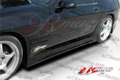 RX7 - Side Skirts - AIT Racing - Mazda RX-7 AIT Racing D1 Style Side Skirts - M787BMD1SSS