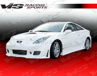 Celica - Side Skirts - VIS Racing - Toyota Celica VIS Racing TSC-3 Side Skirts - 00TYCEL2DTSC3-004