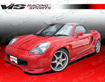 MRS - Side Skirts - VIS Racing - Toyota MRS VIS Racing Techno R Side Skirts - 00TYMRS2DTNR-004