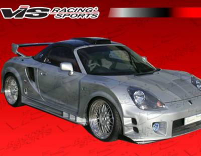 MRS - Side Skirts - VIS Racing. - Toyota MRS VIS Racing Techno R Widebody Side Skirts - 00TYMRS2DTNRWB-004