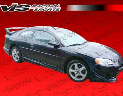 Stratus 2Dr - Side Skirts - VIS Racing - Dodge Stratus 2DR VIS Racing Invader Side Skirts - 01DGSTR2DINV-004