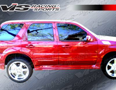 Escape - Side Skirts - VIS Racing - Ford Escape VIS Racing Outcast Side Skirts - 01FDECA4DOC-004