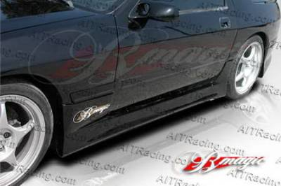 RX7 - Side Skirts - AIT Racing - Mazda RX7 AIT Racing D1 Style Side Skirts - M787HID1SSS