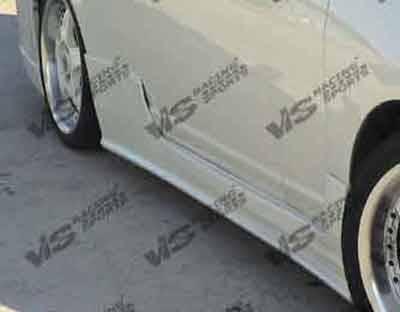 Civic 2Dr - Side Skirts - VIS Racing. - Honda Civic 2DR VIS Racing TSC-2 Side Skirts - 01HDCVC2DTSC2-004