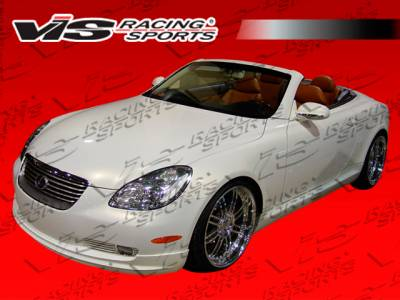 SC - Side Skirts - VIS Racing - Lexus SC VIS Racing VIP Side Skirts - 01LXSC42DVIP-004