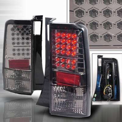 Headlights & Tail Lights - Led Tail Lights - Custom Disco - Scion xB Custom Disco Smoke LED Taillights - LT-XB04GLED