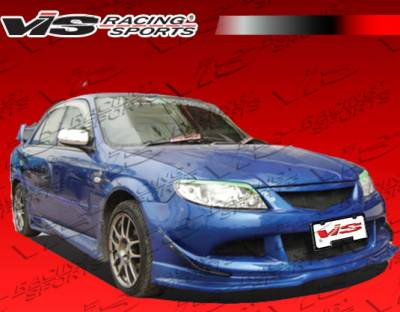 Protege - Side Skirts - VIS Racing - Mazda Protege VIS Racing Cyber-1 Side Skirts - 01MZ3234DCY1-004