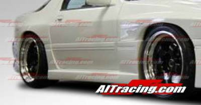 RX7 - Side Skirts - AIT Racing - Mazda RX-7 AIT Racing G4 Style Side Skirts - M789HIG4SSS