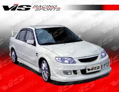 Protege - Side Skirts - VIS Racing - Mazda Protege VIS Racing Icon Side Skirts - 01MZ3234DICO-004