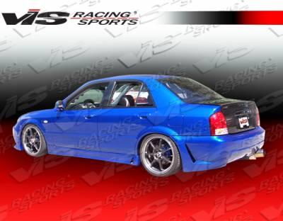 Protege - Side Skirts - VIS Racing - Mazda Protege VIS Racing TSC-3 Side Skirts - 01MZ3234DTSC3-004