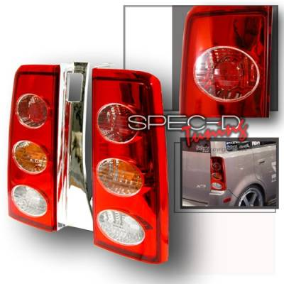 Headlights & Tail Lights - Tail Lights - Custom Disco - Scion xB Custom Disco Red Taillights - LT-XB04R