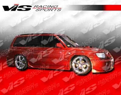 Forester - Side Skirts - VIS Racing - Subaru Forester VIS Racing Tracer Side Skirts - 01SBFOR4DTRA-004