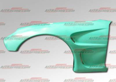 RX7 - Fenders - AIT Racing - Mazda RX-7 AIT Racing D1 Style Wide Front Fenders - M793HID1SFF