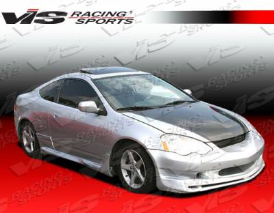RSX - Side Skirts - VIS Racing - Acura RSX VIS Racing Ballistix Side Skirts - 02ACRSX2DBX-004