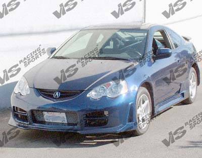 RSX - Side Skirts - VIS Racing - Acura RSX VIS Racing Omega Side Skirts - 02ACRSX2DOMA-004