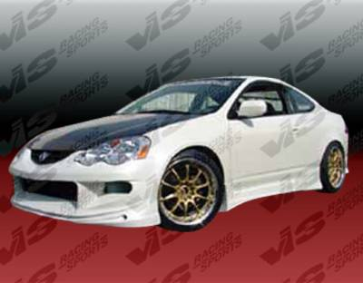 RSX - Side Skirts - VIS Racing - Acura RSX VIS Racing TPG Side Skirts - 02ACRSX2DTPG-004