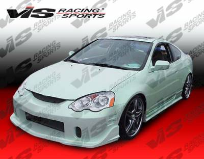 RSX - Side Skirts - VIS Racing - Acura RSX VIS Racing TSC-2 Side Skirts - 02ACRSX2DTSC2-004