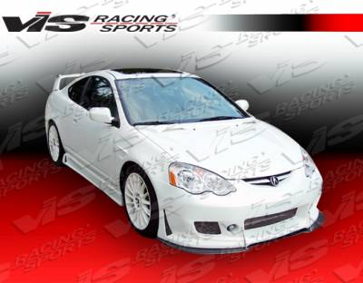 RSX - Side Skirts - VIS Racing - Acura RSX VIS Racing TSC-3 Side Skirts - 02ACRSX2DTSC3-004