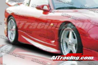 RX7 - Side Skirts - AIT Racing - Mazda RX-7 AIT Racing VS Style Side Skirts - M793HIVSSSS