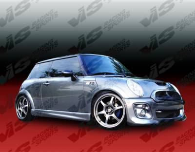 Cooper - Side Skirts - VIS Racing - Mini Cooper VIS Racing Oracle Side Skirts - 02BMMCS2DORA-004