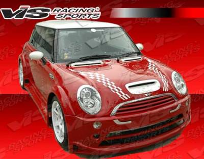 Cooper - Side Skirts - VIS Racing - Mini Cooper VIS Racing Z Max Side Skirts - 02BMMCS2DZMX-004