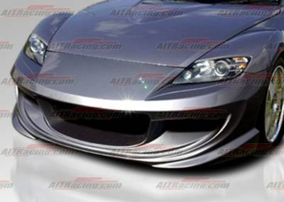 RX8 - Front Bumper - AIT Racing - Mazda RX-8 AIT Racing ABF Style Front Bumper - M803HIABFFB