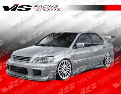 Lancer - Side Skirts - VIS Racing - Mitsubishi Lancer VIS Racing K Speed Side Skirts - 02MTLAN4DKSP-004