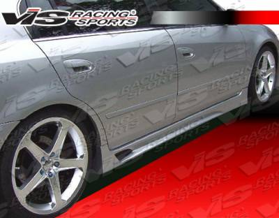 Altima - Side Skirts - VIS Racing - Nissan Altima VIS Racing Magnum Side Skirts - Urethane - 02NSALT4DMAG-004