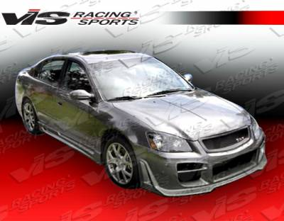 Altima - Side Skirts - VIS Racing - Nissan Altima VIS Racing Octane Side Skirts - 02NSALT4DOCT-004