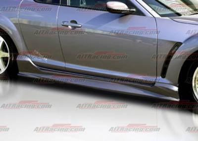RX8 - Side Skirts - AIT Racing - Mazda RX-8 AIT Racing ABF Style Side Skirts - M803HIABFSS
