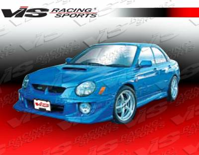 WRX - Side Skirts - VIS Racing - Subaru WRX VIS Racing Zyclone-2 Side Skirts - 02SBWRX4DZYC2-004