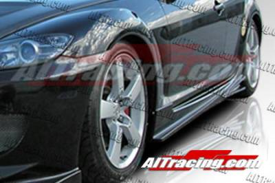 RX8 - Side Skirts - AIT Racing - Mazda RX-8 AIT Racing Mint Style Side Skirts - M803HIMNTSS