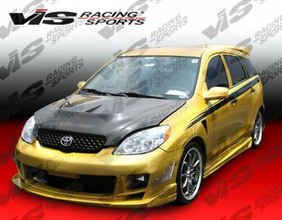 Matrix - Side Skirts - VIS Racing - Toyota Matrix VIS Racing Ballistix Side Skirts - 02TYMAT4DBX-004