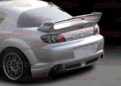 Spoilers - Custom Wing - AIT Racing - Mazda RX-8 AIT Racing RM Style Rear Spoiler - M803HIRMGRW