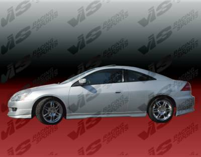 Accord 2Dr - Side Skirts - VIS Racing - Honda Accord 2DR VIS Racing EVO-4 Side Skirts - 03HDACC2DEVO4-004