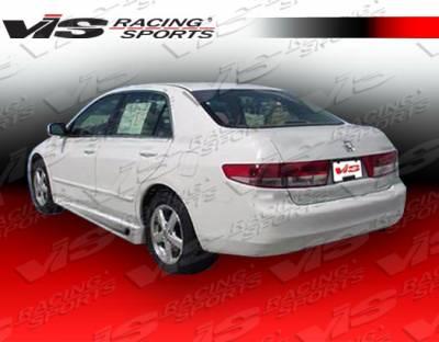 Accord 4Dr - Side Skirts - VIS Racing. - Honda Accord 4DR VIS Racing Ballistix Side Skirts - 03HDACC4DBX-004