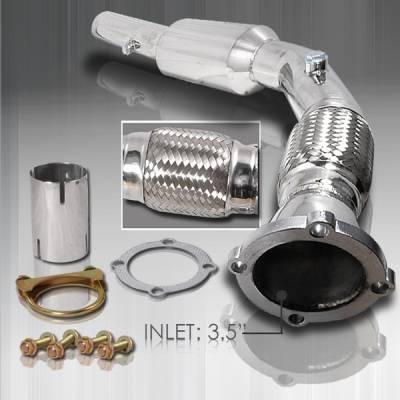 Exhaust - Exhaust Pipes - Custom Disco - Volkswagen Jetta Custom Disco Exhaust Down Pipe - MDP-GLF99
