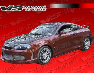 Tiburon - Side Skirts - VIS Racing - Hyundai Tiburon VIS Racing Drifter X Side Skirts - 03HYTIB2DDFTX-004