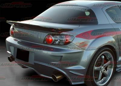 Spoilers - Custom Wing - AIT Racing - Mazda RX-8 AIT Racing Wangon Style Rear Spoiler - M803HIWGNRW