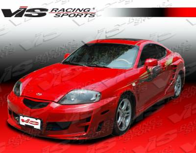 Tiburon - Side Skirts - VIS Racing - Hyundai Tiburon VIS Racing Rally Side Skirts - 03HYTIB2DRAL-004