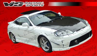 Tiburon - Side Skirts - VIS Racing - Hyundai Tiburon VIS Racing Tornado Side Skirts - 03HYTIB2DTND-004