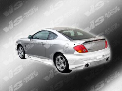 Tiburon - Side Skirts - VIS Racing - Hyundai Tiburon VIS Racing Tranz Side Skirts - 03HYTIB2DTZ-004