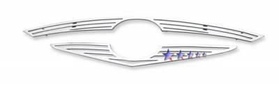 Grilles - Custom Fit Grilles - APS - Mazda 6 4dr APS CNC Perimeter Grille - M96646A