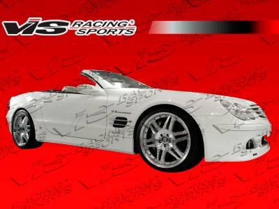 SL - Side Skirts - VIS Racing - Mercedes-Benz SL VIS Racing B-Spec Side Skirts - 03MER2302DBSC-004